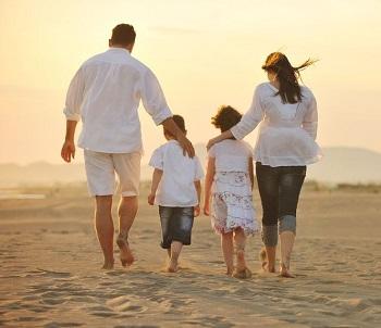 مكان سياحة الأسرة في بالي